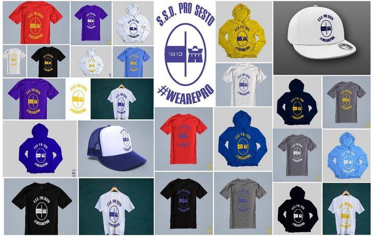 """Consultate il mio progetto @Behance: """"We are Pro - Pro sesto New Brand Identity…"""