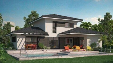 37 best Ma maison de rêve images on Pinterest Modern townhouse - construire sa maison budget