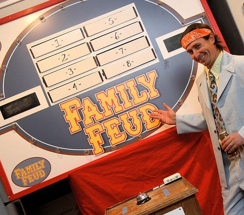 Did you ever notice when you used to watch Family Feud that there