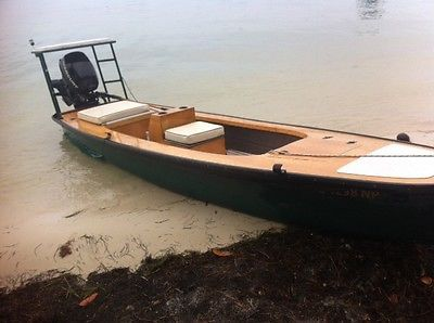2006 Indian River Flats Boat Microskiff