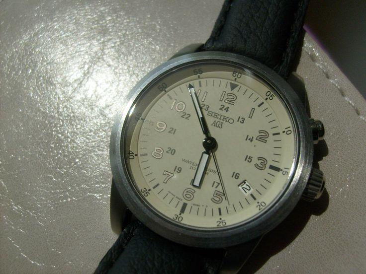 Seiko Herren-Armbanduhr SSA287K1: Amazonde: Uhren