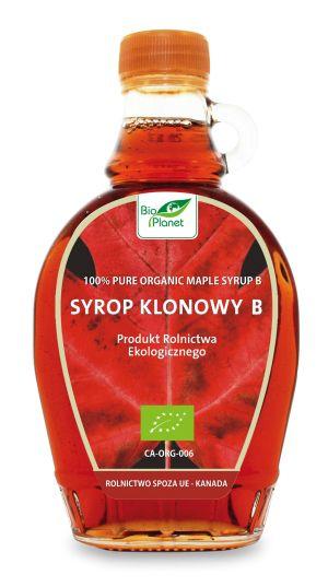 Syrop klonowy typ B Bio, 250 g - Bio Planet