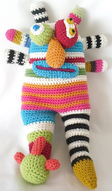 crochet Monster by loopy lou designs, via Flickr, www.loopyloudesigns.com