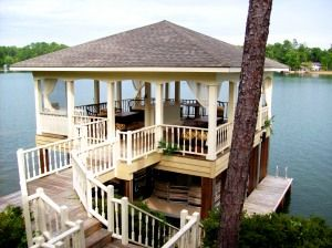 Boat house for a lake house! Repin & Follow my pins for a FOLLOWBACK!