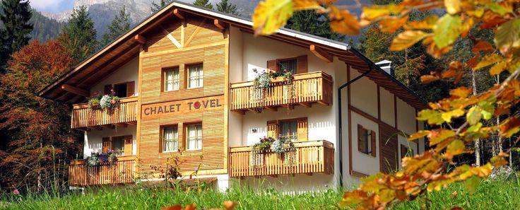 Chalet Tovel Mountain Lake: Chalet   ....dormire al lago di tovel !!!!!