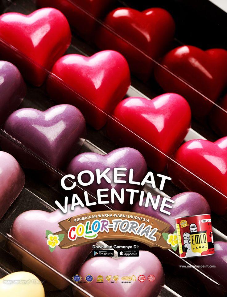 Happy Valentine Day, Kawan EMCO! Semoga Kawan EMCO semakin cinta dengan EMCO paint ya! Valentine Day pasti identik dengan bunga dan cokelat. Cokelat pertama kali digunakan saat valentine yaitu pada era Victoria di Inggris, tepatnya tahun 1837.  Pada saat itu masyarakat Inggris sedang menyukai segala hal yang berbau romantis seperti cupid (malaikat cinta), bentuk love dan bunga. Lalu seorang chocolate maker, Richard Cadbury, membuat sebuah cokelat spesial. Tidak hanya dari rasanya tapi…