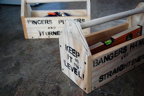 By Tools, For Tools: Quick (and Fun) Wood Toolboxes - DIYdiva
