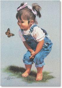 Butterfly Kisses | Ann Hanson | 3_2001327-P | Leanin' Tree