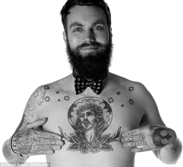 1000 images about beards mustaches tattoos on for James harden tattoo