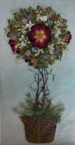 トピアリー - さくら 吹雪の 押し花アトリエ プチ フルール