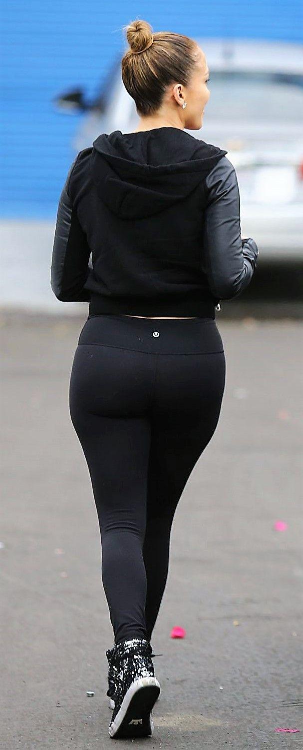 Jennifer Lopez Fat Ass In Black Leggins Hd Babydollsparadise Com