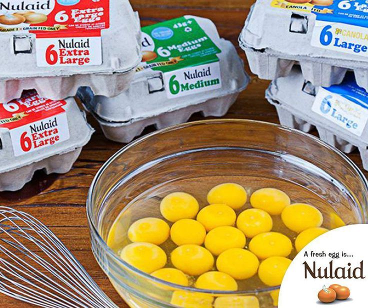 "#Eggs are one of the few foods considered to be a complete protein, because they contain all 9 essential amino acids, which are considered the ""building blocks for the body"" because they help form protein. #Nulaid"