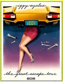 Iggy Azalea Tour Poster