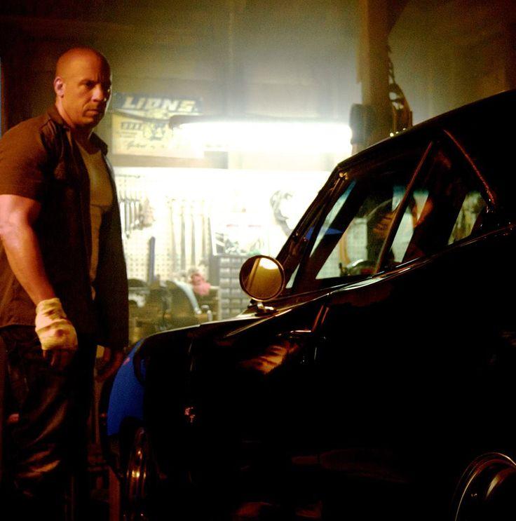 Vin Diesel posta mais uma foto de Velozes e Furiosos 7