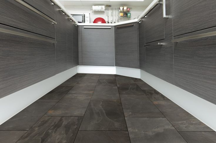 Black Slate Flooring from BuildDirect