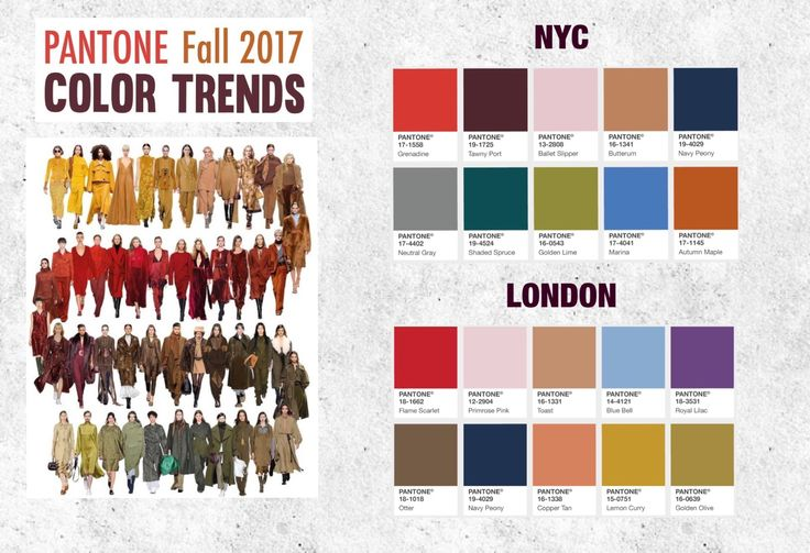 pantone fall 2017 color trends pantone farben. Black Bedroom Furniture Sets. Home Design Ideas