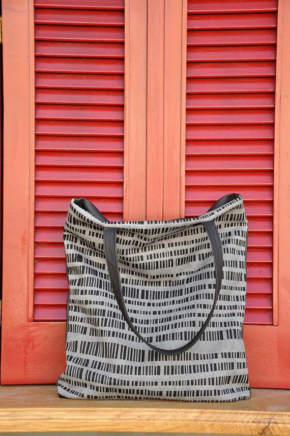 VEGAN TOTE BAG Vegan shoulder bag Vegan leather tote bag