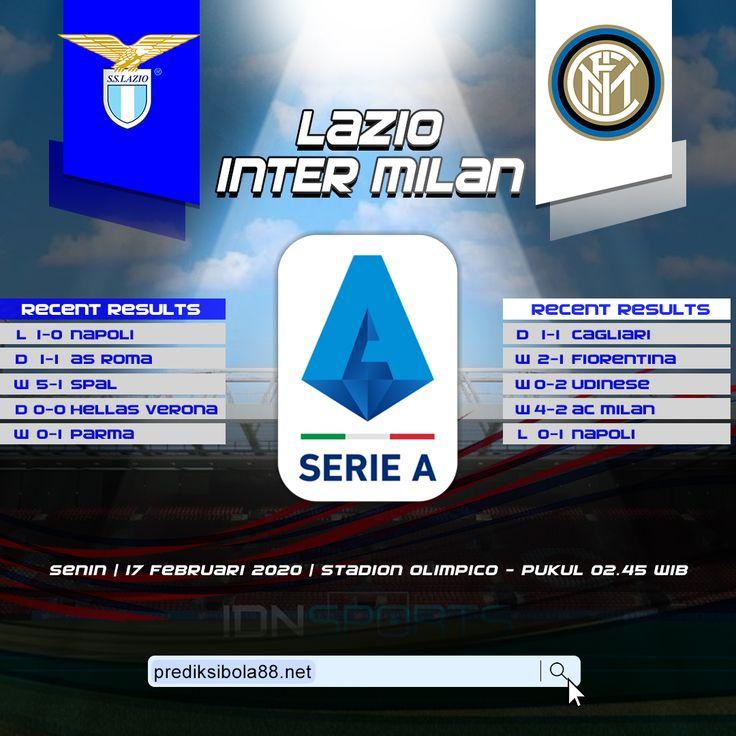 Lazio vs Inter Milan Serie A Prediksi Bola Head to Head ...