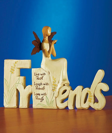 Sentiment Angel Figurines | The Lakeside Collection: Figurinesth Lakeside, Favorite Things, Lakeside Collection, Friends Sentiments, Figurines Friends, Sentiments Angel, Angels, Angel Figurines Th, Angel Figurinesth