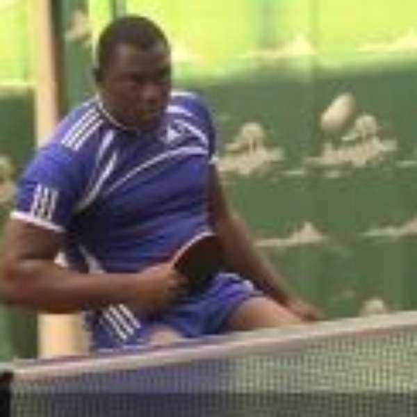 George Wyndham é o único atleta de serra Leoa a participar da Paralimpíada do Rio
