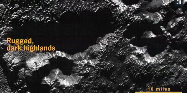 La NASA a publié une partie des images très détaillées de sa sonde New Horizons.