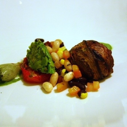 A little taste of the out-of-this-world vegan menu at Planet Restaurant in Cape Town