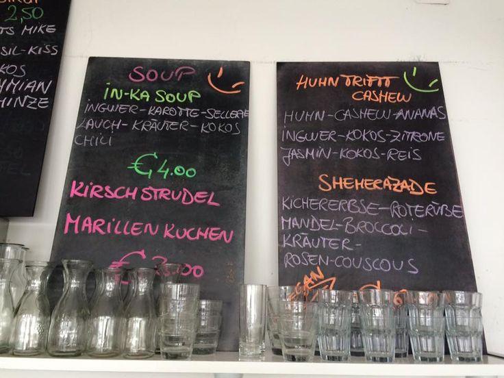 Donnerstag, 30. Juli 2015  in-ka soup huhn trifft cashew sheherezade (vegan)