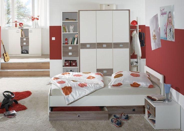 Jugendzimmer Komplett Jette Kinderzimmer Weiß Brombeer Lila 5708 Mit Diesem  Jugendzimmer Vom Hersteller Wimex Treffen Sie Eine Gute Wahl. Wimex Wo