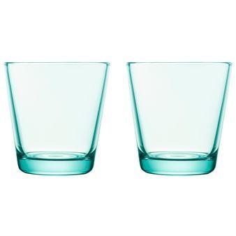 Die formschönen 21cl Kartio Trinkgläser von Iittala sind in verschiedenen, inspirierenden Farbtönen bestellbar. Der finnische Designer Kaj Franck, der als