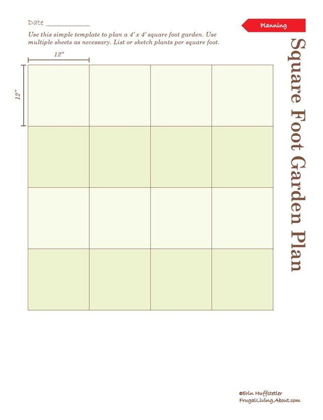 Cute Print This Free Garden Planner