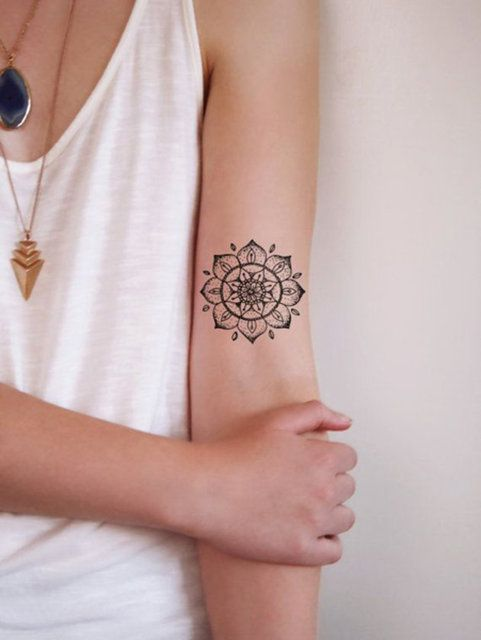 New trend: Mandala tattoo
