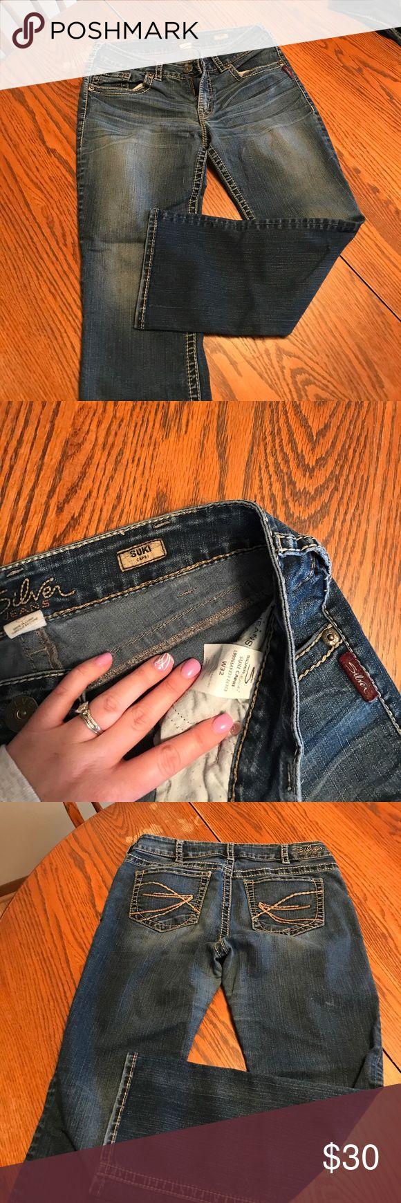 Silver capris Women's silver capris W32 Silver Jeans Jeans