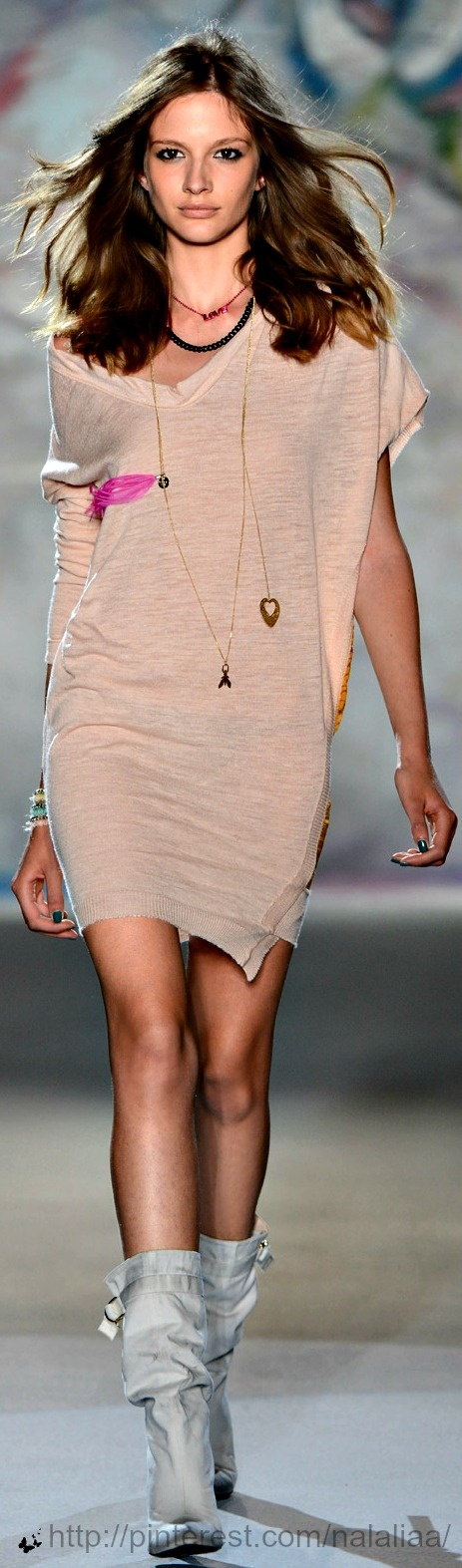 This looks like you pulled it out from under your bed.....after the puppy got to it!  Patrizia Pepe SS'13 ♥ na