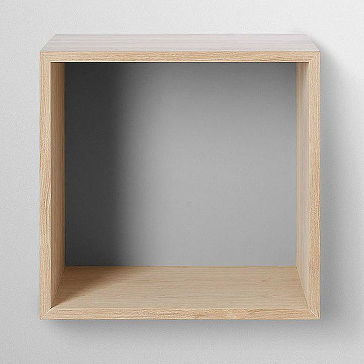 top3 by design - MUUTO NEW NORDIC - muuto shelf w-bkbrd ash-gry M