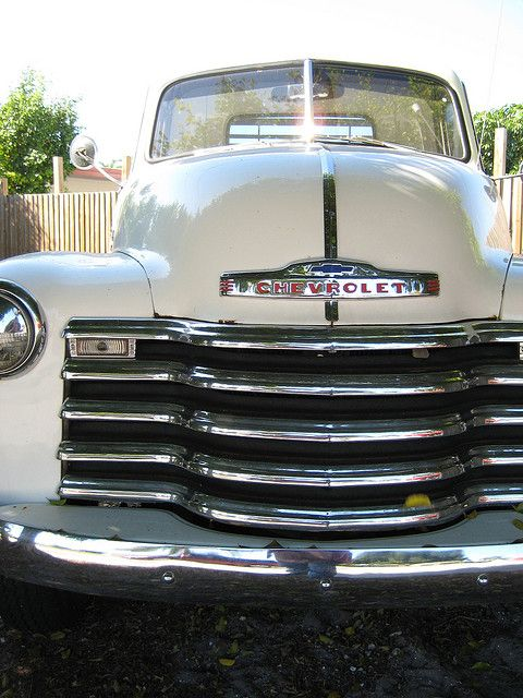 Vintage Chevrolet #ChevyTrucks
