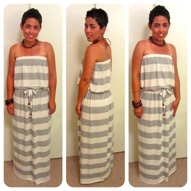 Diy maxi dress to skirt