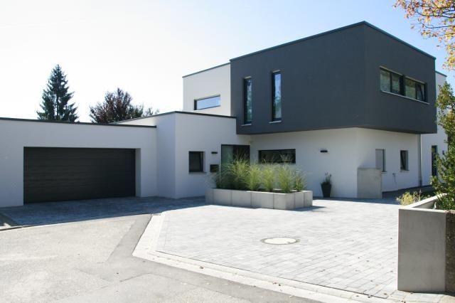 1000 bilder zu flachdach haus auf pinterest haus for Moderne architektur wohnhaus