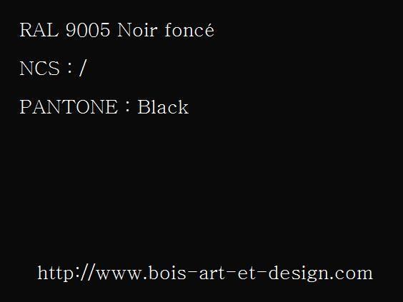 ral 9005 noir fonc jpg 564 423 codes ral codes ncs codes pantone 207 r f rences. Black Bedroom Furniture Sets. Home Design Ideas