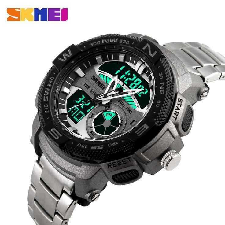 2016 Quartz Digital SKMEI Watch Men Dual Time Man Sports Watches Men S Shock Military Army Reloj Hombre LED Wristwatches Nail That Deal http://nailthatdeal.com/products/2016-quartz-digital-skmei-watch-men-dual-time-man-sports-watches-men-s-shock-military-army-reloj-hombre-led-wristwatches/ #shopping #nailthatdeal