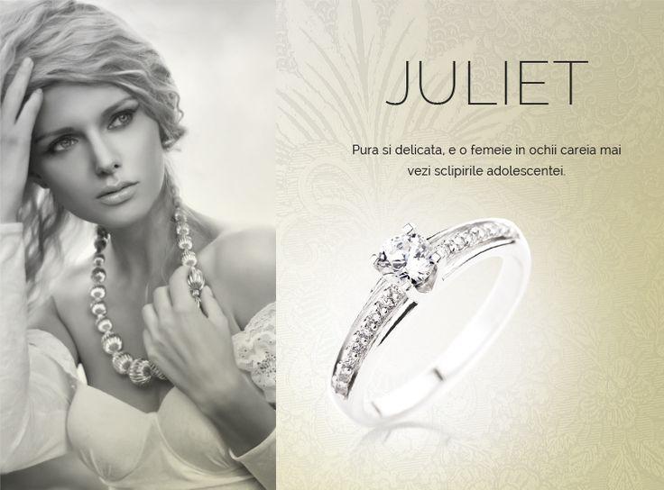 Colectia Juliet  #MadeInRomania #IneleDeLogodna www.coriolan.ro