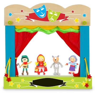 Red Riding Hood - Finger Puppets - Memorable Toys Boutique
