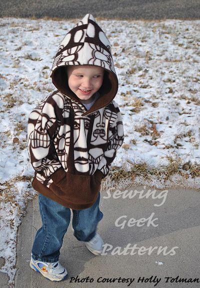 Child Comfy Hoodie - The Sewing Geek