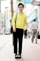 Black-underground-shoes-yellow-zara-sweater_med