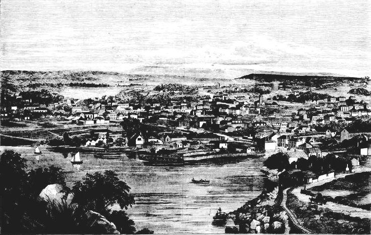 Launceston in 1867