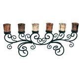 Found it at Wayfair Australia - 5-Cup Shiny T-Light Candle Holder on Metal Base