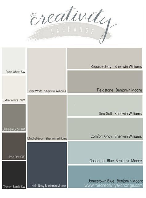 Results From The Reader Favorite Paint Color Poll Transitional Living