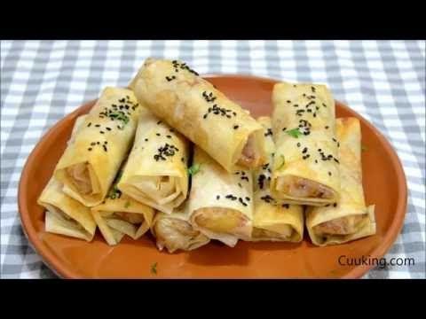 Rollitos de pollo, queso y bacon ¡Una receta de aprovechamiento deliciosa! | Cuuking! Recetas de cocina