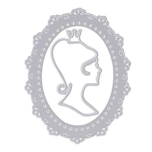 Hunulu Mirror Metal Cutting Dies Stencil Scrapbook Paper Card Embossing DIY Craft Gift ** More info could be found at the image url.Note:It is affiliate link to Amazon.