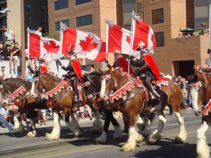 The Calgary Stampede, Canada