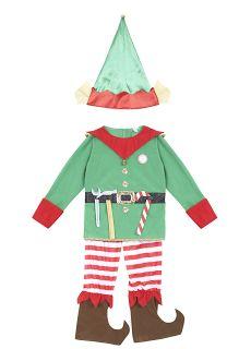 Christmas fancy dress   christmas elf outfit   sainsburys   V.I.BABY   mamasVIB   Christmas